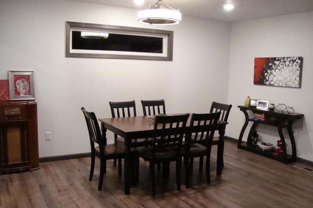 Dining Room Remodel & Living Area Remodel Gallery - Luken ...